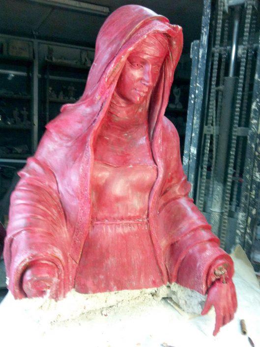 escultura de cera para fundir