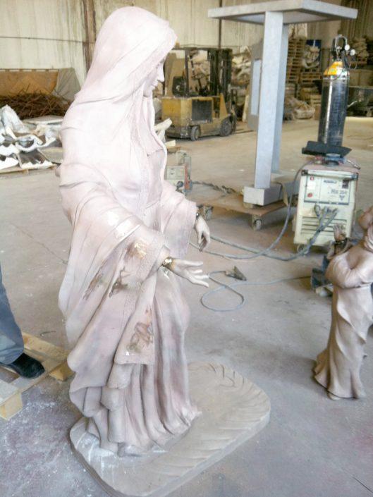 esculturas de bronce en bruto fundición