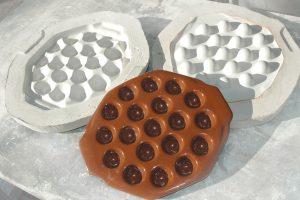 Molde de escayola para colada cerámica