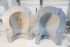 Molde de escayola para silicona