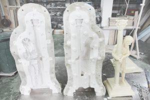 Moldes de silicona para arte sacro