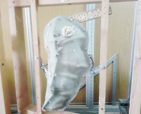 Rotocasting figuras de resina