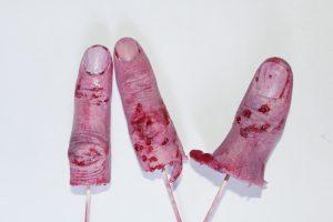 ficticios de dedos de silicona