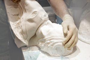 molde para busto de resina
