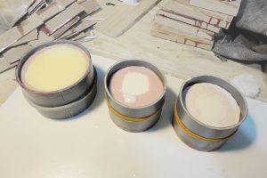 moldes de silicona con contramolde pvc