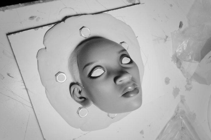 moldes para muñecas de resina
