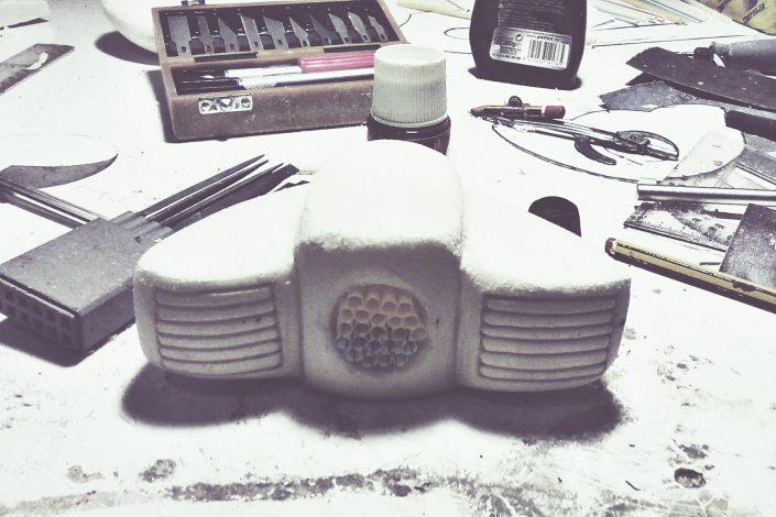 Maqueta prototipo poliespan