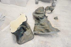 restaurar esculturas resina