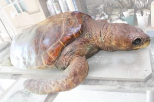 restauracion de escultura de silicona