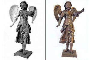 restauracion de figuras religiosas