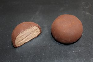 ficticio de mochi de cacao