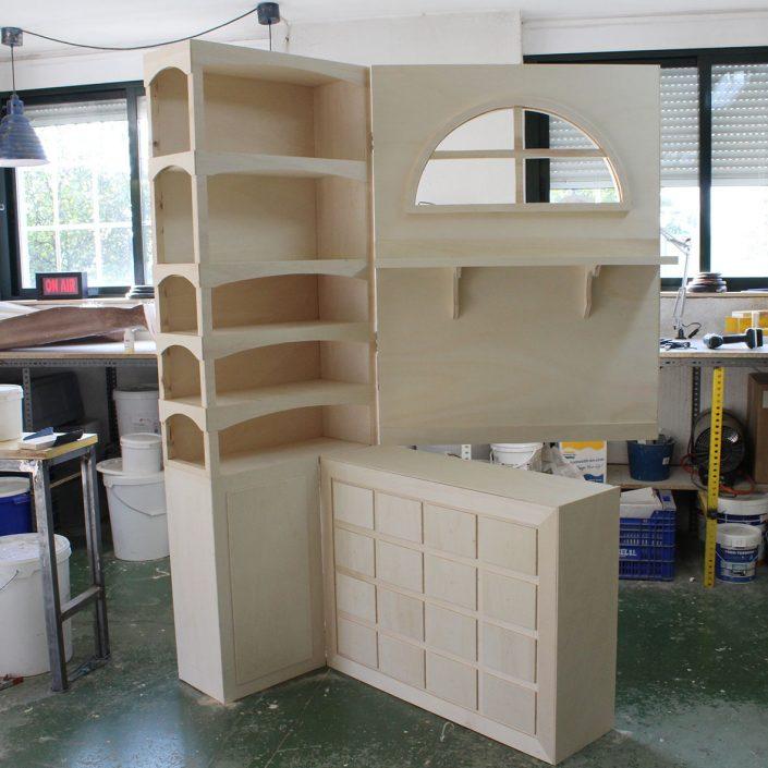 fabricación de decorado para escaparate
