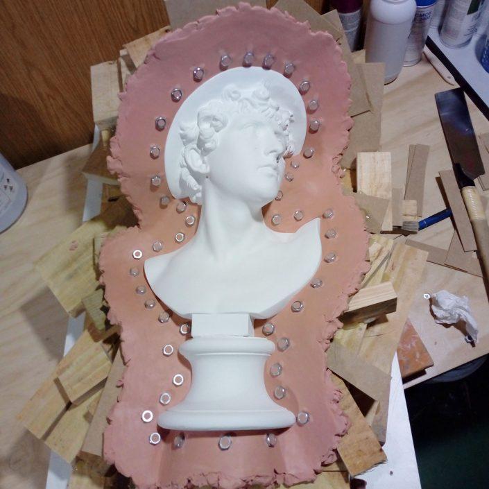 moldes de silicona para esculturas