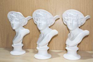 réplicas de bustos de resina