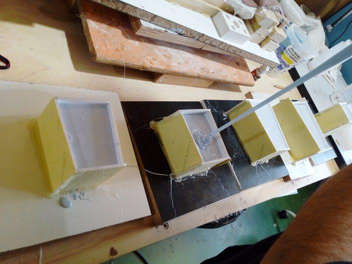 moldes de silicona para resina