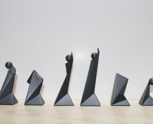 prototipos de piezas de ajedrez