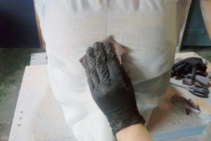 fabricación de busto 3D