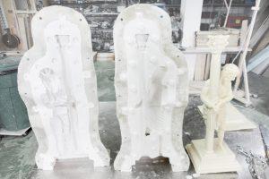 moldes a medida para reproducciones de esculturas religiosas