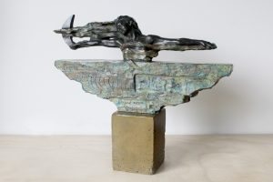 escultura resina y bronce restauración