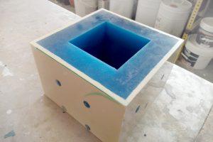 moldes de silicona para colada de resina