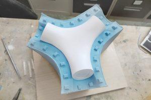 moldes de silicona para fabricación de piezas de resina