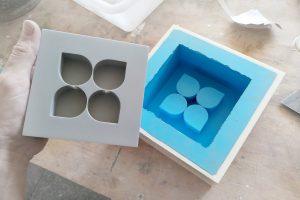 moldes de silicona para trofeos de resina