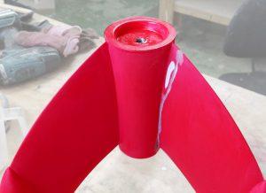 restauración escultura de resina